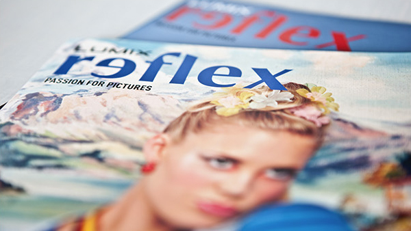 Referenz Kundenzeitschrift: reflex, das Fotomagazin von Panasonic